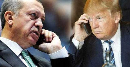 Trump and Erdoğan talk over the phone