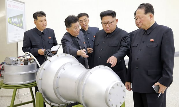 North Korea undertook hyrdogen bomb test