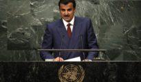 """Qatari emir condemns """"unjust blockade"""" at UNGA speech"""