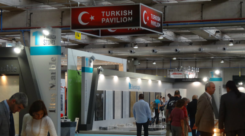 Turkey participates in Macromacc Marble Fair in Verona Italy