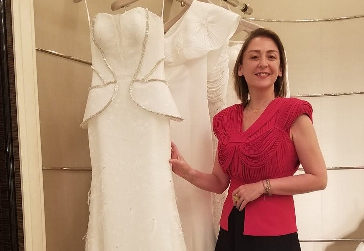 Arzu Kaprol A Famous Turkish Fashion Designer Business Turkey Today News Economy Politics Travel