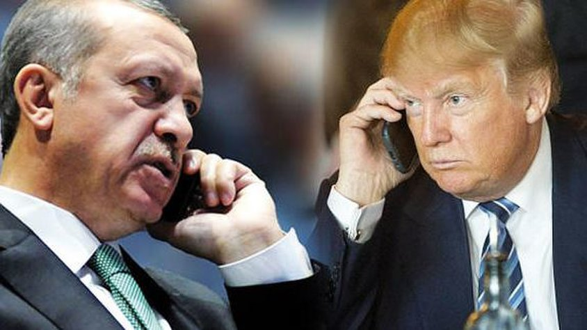 Who is not telling the truth about the call between Trump  & Erdogan regarding Afrin?