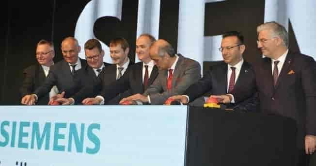 "German business giant Siemens opens new ""Low Voltage Switchgear Plant"" in Gebze"