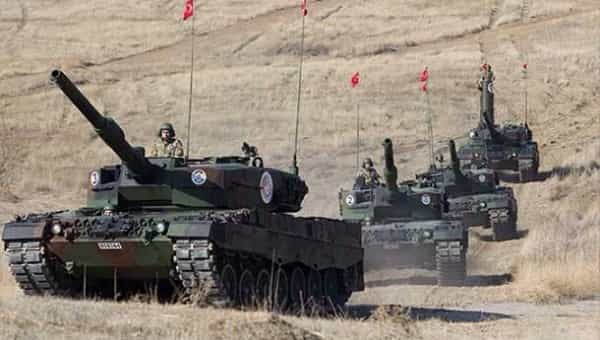 Turks support the government regarding Afrin operation