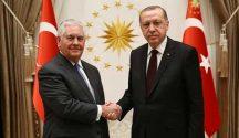 Foreign Secretary Tillerson says USA considers Turkey's border security concerns