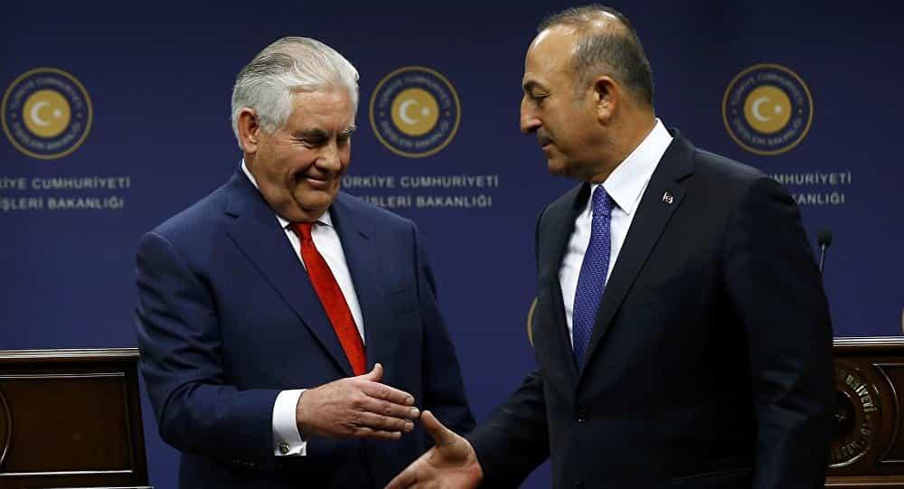 FM Çavuşoğlu says Turkey and USA have agreed on Manbij and east of Euphrates
