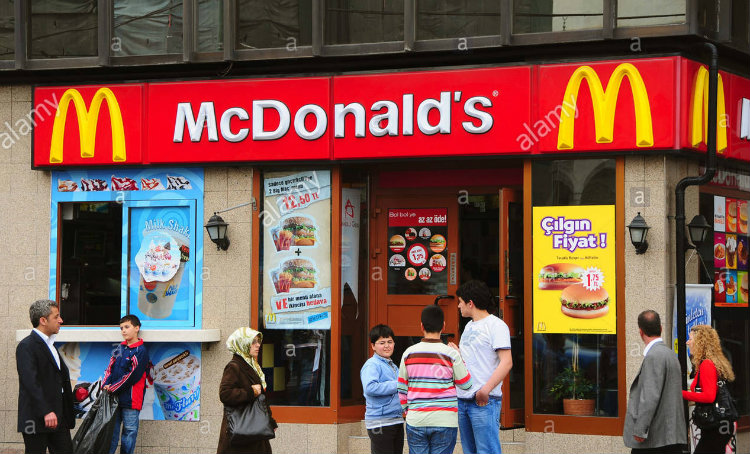 McDonald's Turkey ranks first in customer number growth among 119 countries