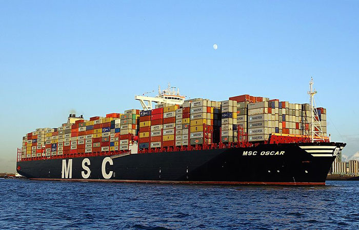 Global Shipping Giant announces it will send huge capacity container ships to Turkish ports