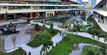 Turnover index for shopping malls increases by 22.4 percent in July 2018