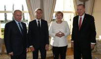 Turkey hosts Putin, Merkel, and Macron at four-way summit on Syria conflict in Istanbul