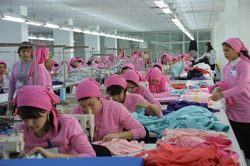 Turkey is gaining advantage over Far East Countries in clothing production