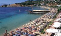 Bodrum where many of the most beautiful beaches in Turkey are located