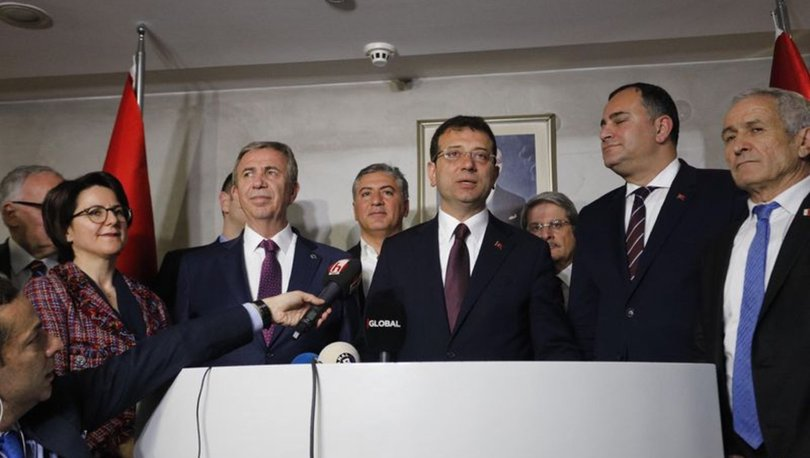 IMAMOGLU, mayoral candidate for CHP expects to receive his mandate, soon