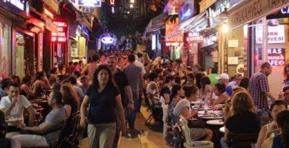 The historical Kadıköy Bazaar on the Anatolian side of Istanbul