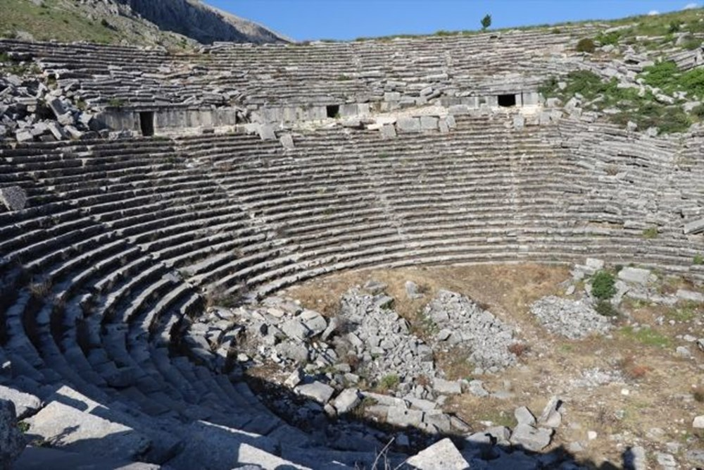Sagalassos, the city of lovers and emperors in Burdur, Turkey